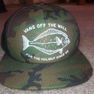 Vans Camouflage Snapback Trucker Hat